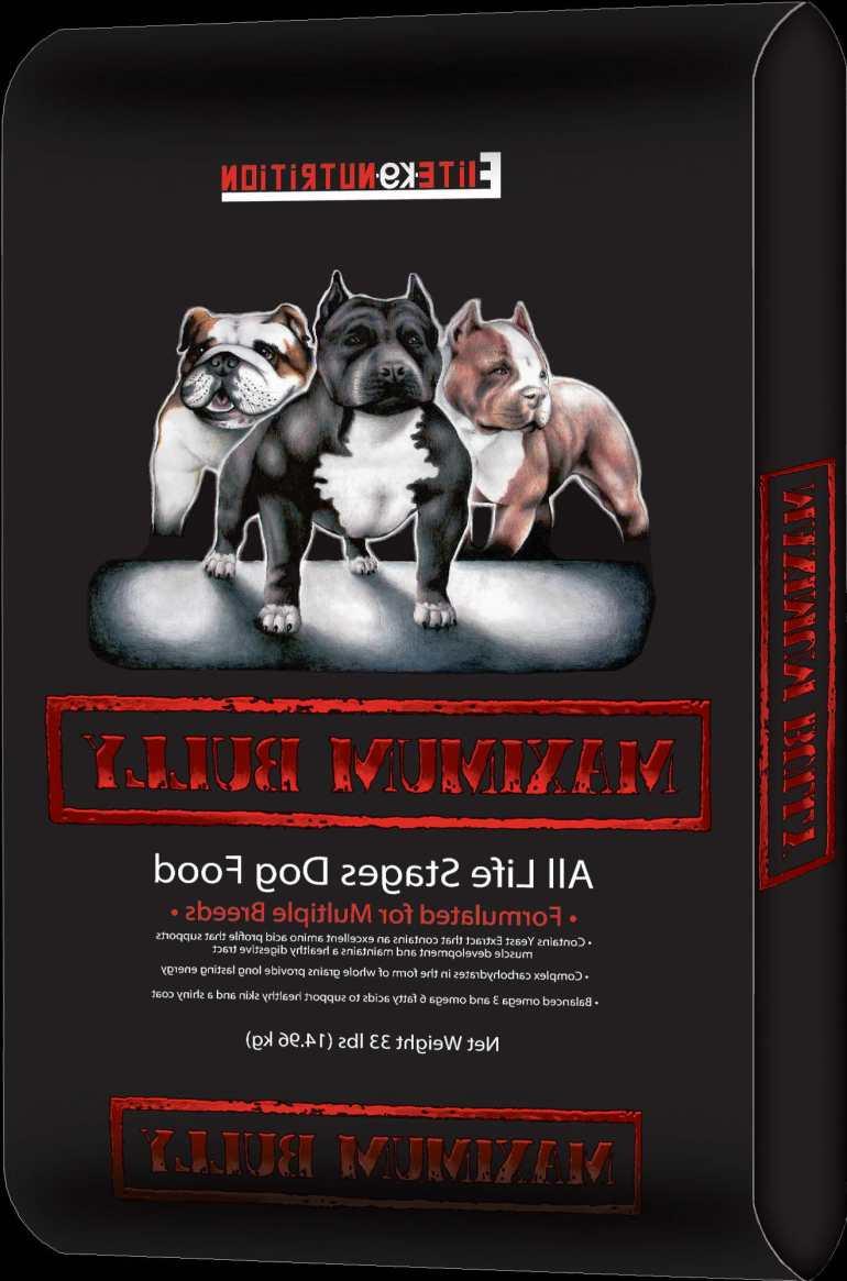 Maximum Bully Dog Food
