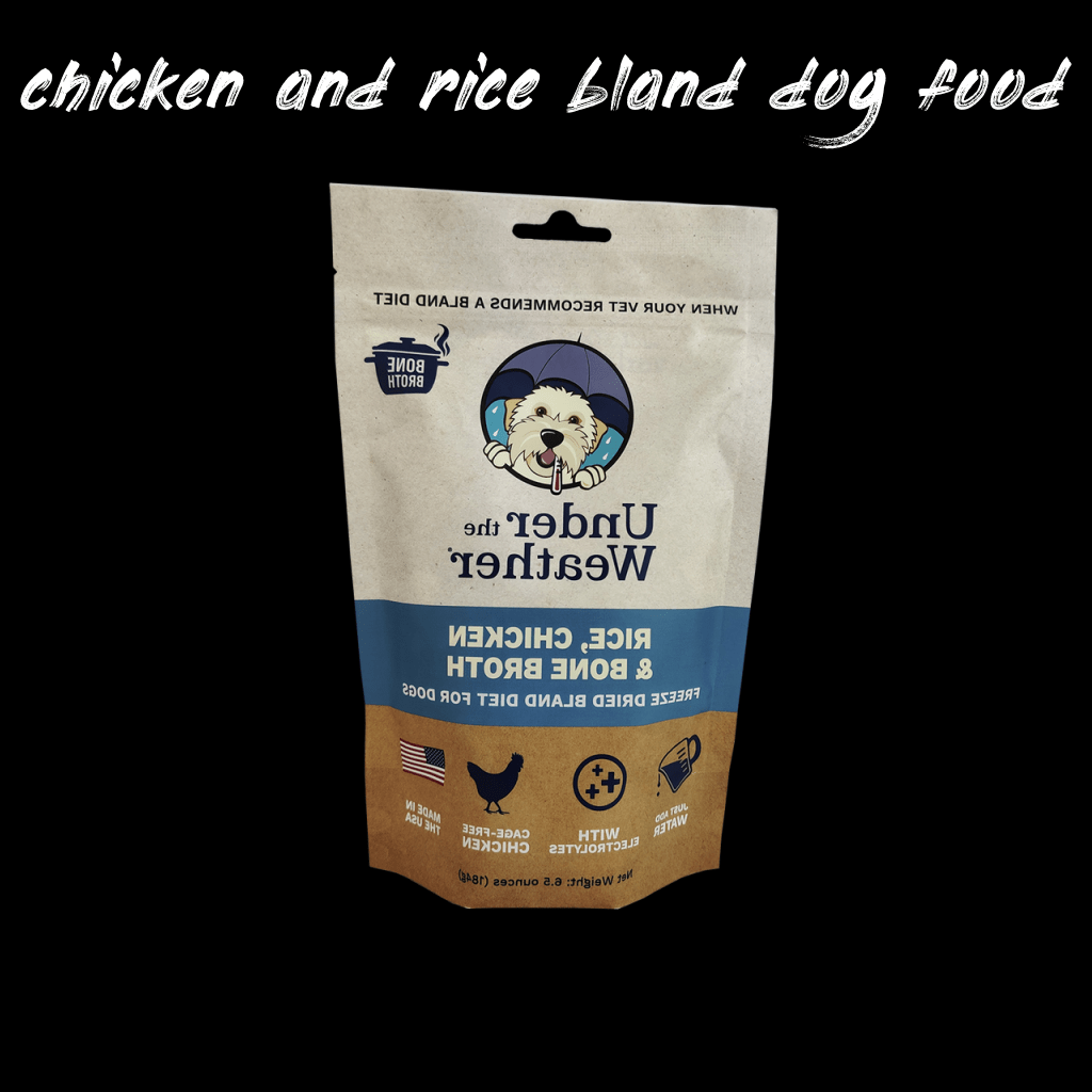 Things you should know about chicken and rice bland dog food