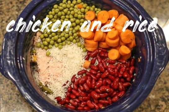 Chicken And Rice Crockpot Dog Food