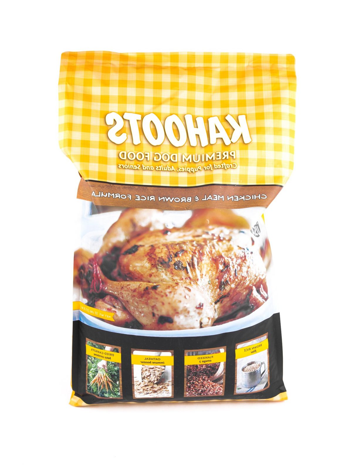 Short information about chicken and rice for large dog