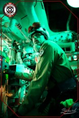 At the reactor control panel. Photo: John-Paul Bichard (CC-NC-ND)