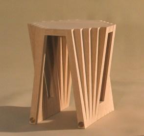 Batten Side Table