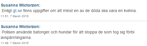 Från Sveriges Radio