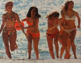 Strand i södra Europa 1970