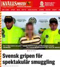 """""""Svensken"""" i Expressen/Kvällsposten."""