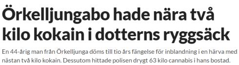 """Bujar Idrizi, heter den man som  kallas """"Örkelljungabon"""". Hanärinte ens svensk medborgare. Dessutomglömmer media att skriva om utvisningen."""
