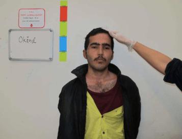 Hussaini Muhammad 17 år, ensamkommande flyktingbarn från Afghanistan har två småsyskon i Iran som är 21 och 23 år.