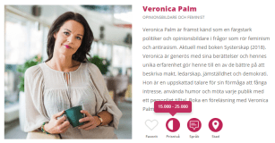 Veronica_Palm_pris