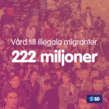 SD Illegala invandrare sjukvård.