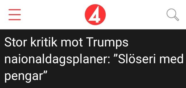 4 juli Donald Trump 2