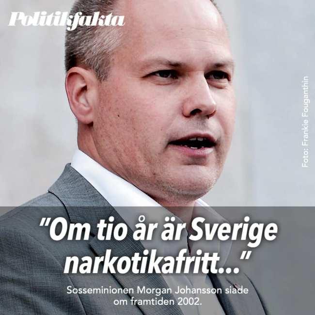 Politikfakta Morgan Johansson