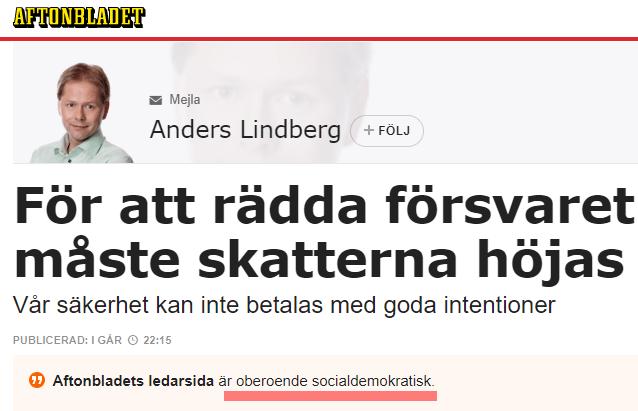 Aftonbladet_Anders_Lindberg_försvaret_skatter_