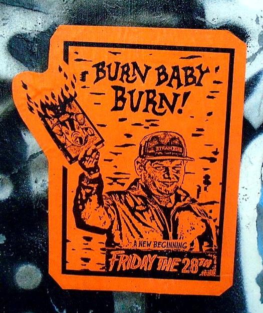 Dan Park brinn koran