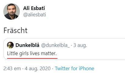 Ali Esbati Dunkelblå
