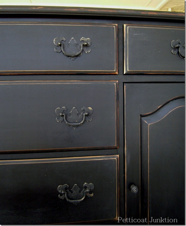 Black Paint Makes Furniture Classy And Sassy