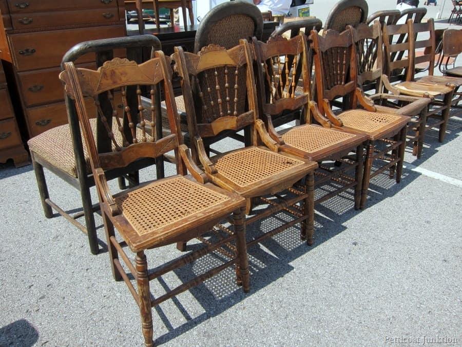 Eastlake Style Chair Nashville Flea Market Petticoat