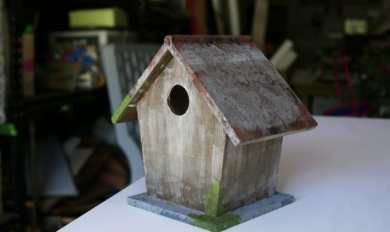 Wooden Birdhouses To Paint Wooden Thing