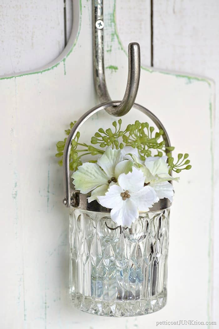 Glass Wall Vase On The Cheap Petticoat Junktion