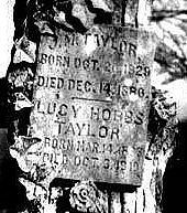 Lucy Hobbs gravestone