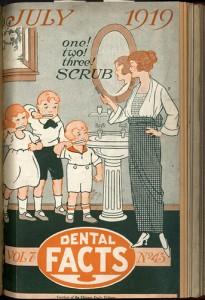 antique dental booklet
