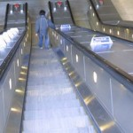 down escalator