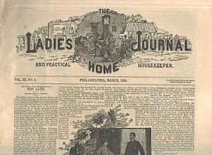 1886 ladies home journal