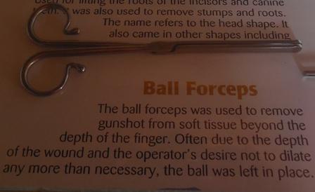 Ball Forceps