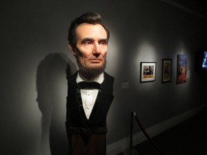 Lincoln's bust