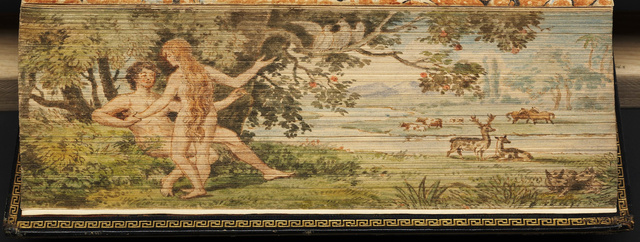 Eden Fore Edge Painting