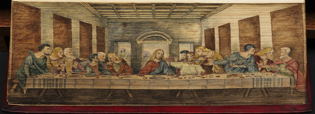 Last Supper Fore Edge