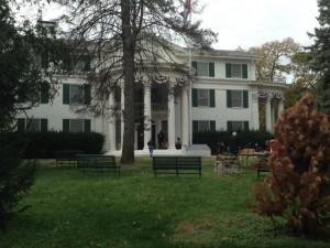 The 52-room Morton Mansion