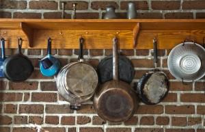 Rustic Pots & Pans