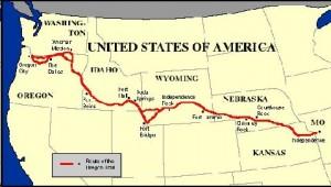 Oregon Trail Wagon Train 6