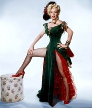 You might recognize Marilyn Monroe's saloon girl character from the classic western, River of No Return.