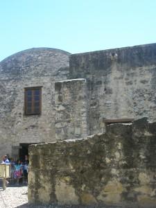 Alamo close up