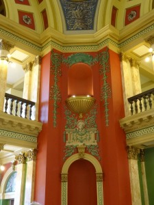 Interior of the Montana State Capitol