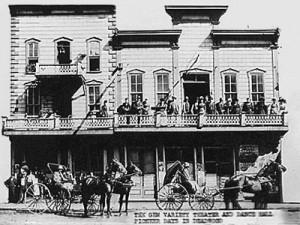 Gem Theatre, Deadwood, SD, 1878