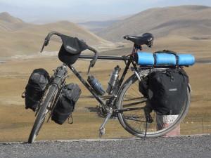 Modern Touring Bike