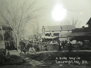 Elmore Street, Lecompton-The Wall Street of the West_blog