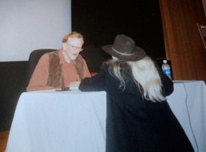 Sharene Jim Arness & Patti 2001 booksigning