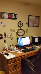 Desk smaller
