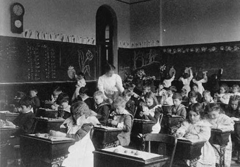 19th century classroom