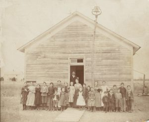 BLOG ONE ROOM SCHOOLHOUSE IN BLANCHARD-1910