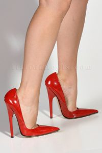 Mary's Patented Weight Loss Program...6 inch heels