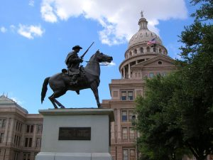 Texas Rangers monument