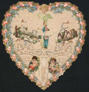 window valentine, ca. 1864