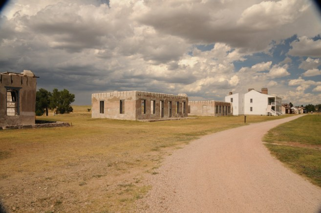 Old Fort Laramie Officers Row