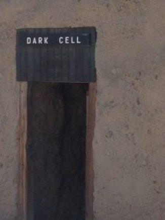 Yuma Territorial Prison Dark Cell exterior