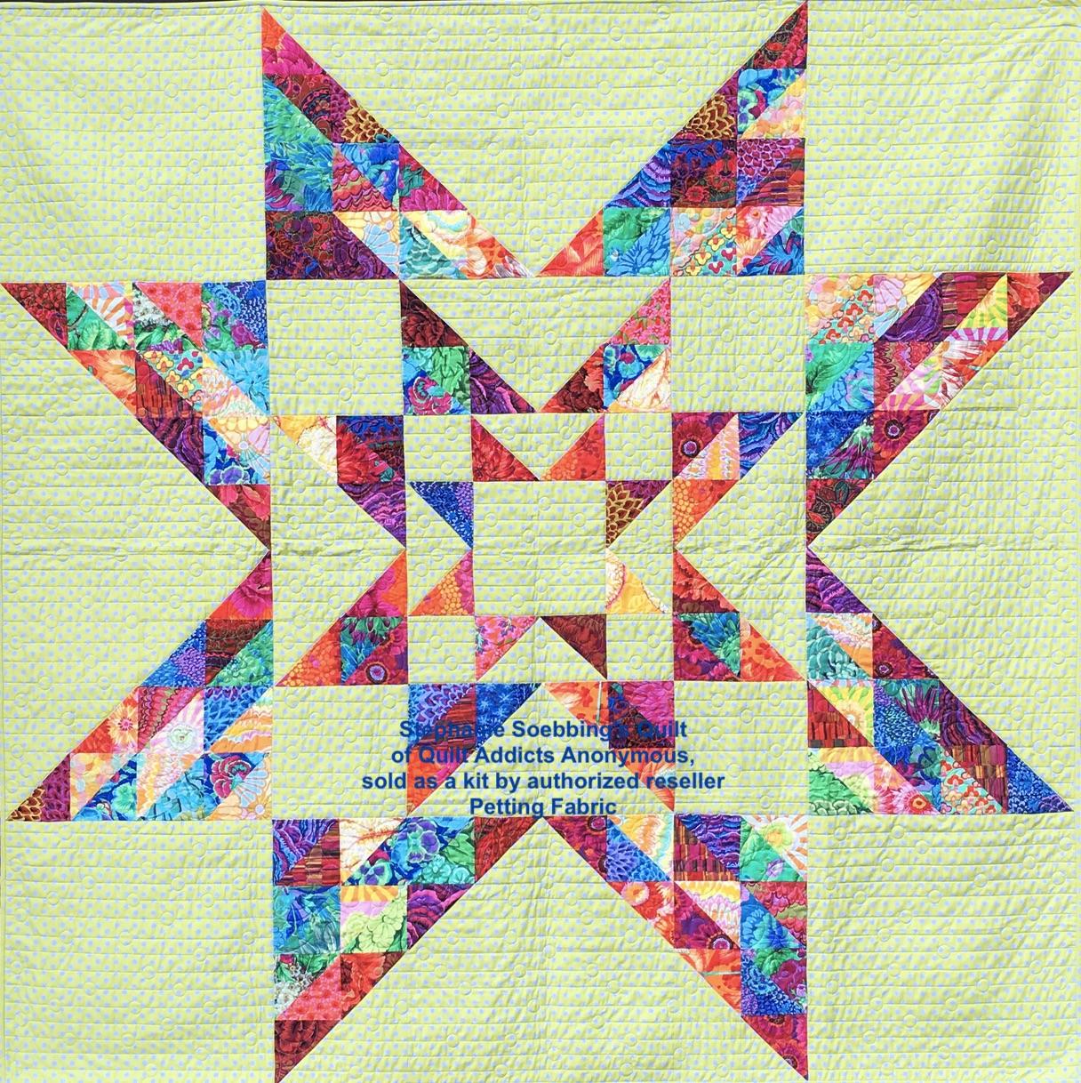 Charmed Squared Quilt Kit