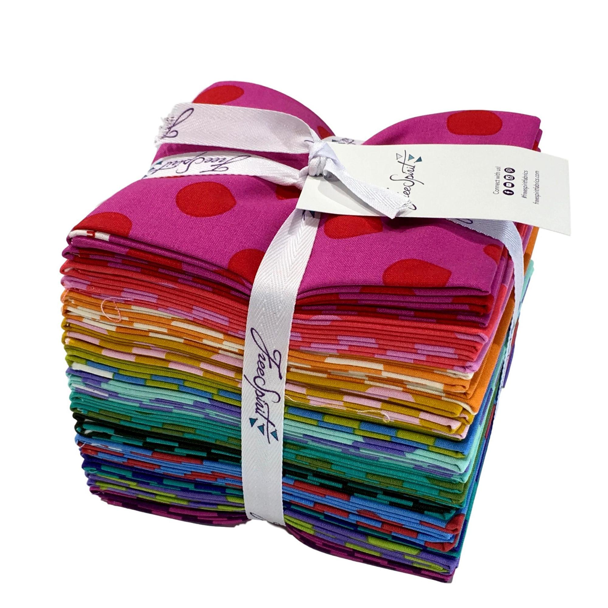 Tula Pink S All Stars Pom Poms Amp Stripes Fat Quarter